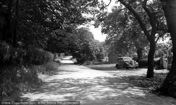 Photo of Langho, York Lane c.1955