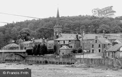 Church And Town c.1955, Langholm