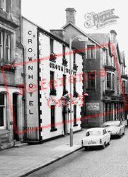 Crown Hotel c.1960, Langholm