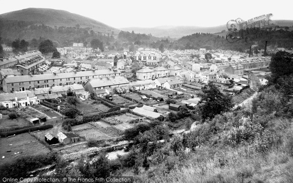Photo of Langholm, From Gaskell's Walk c.1960