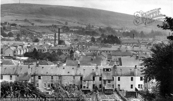Photo of Langholm, From Scotsknowe c.1955