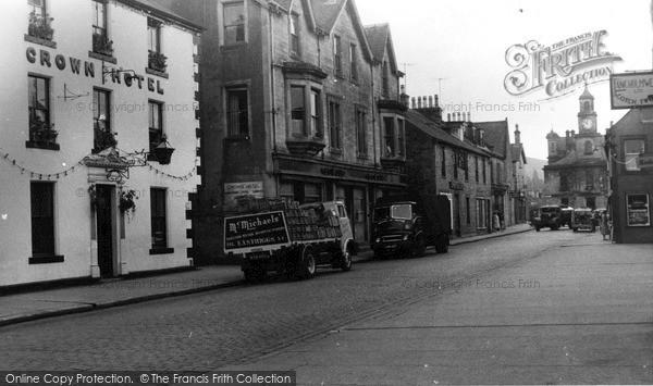 Photo of Langholm, High Street c.1955