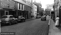 High Street c.1955, Langholm
