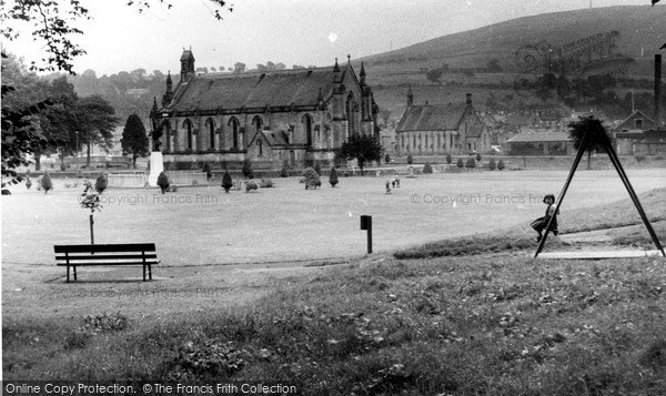 Photo of Langholm, In The Park c.1955