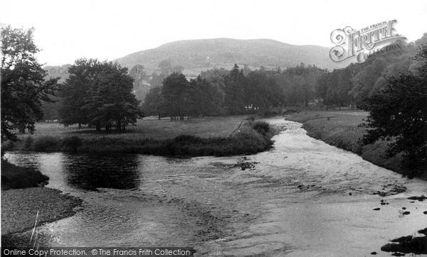 Photo of Langholm, Meeting Of The Waters c.1955