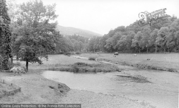 Photo of Langholm, Meeting Of The Waters c.1955
