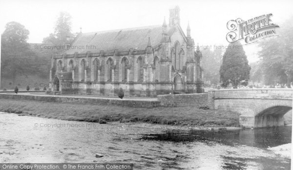 Photo of Langholm, Old Parish Church c.1955