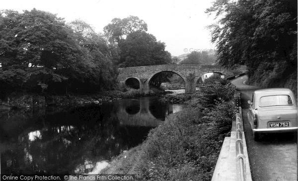 Photo of Langholm, River Esk c.1955