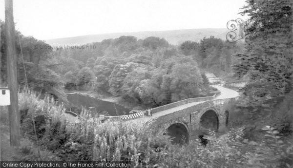 Photo of Langholm, Skippers Bridge c.1960
