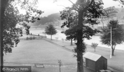Langholm, The Park And River Esk c.1955