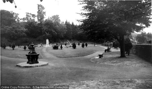 Photo of Langholm, The Park c.1960