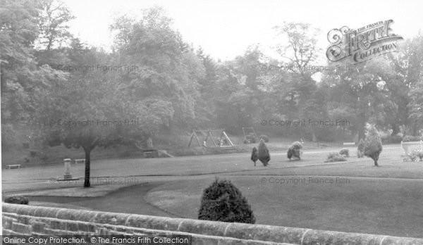 Photo of Langholm, The Park c.1960