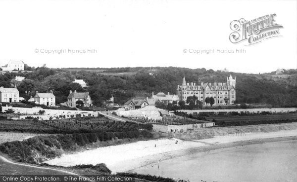 Photo of Langland, Bay And Hotel 1893