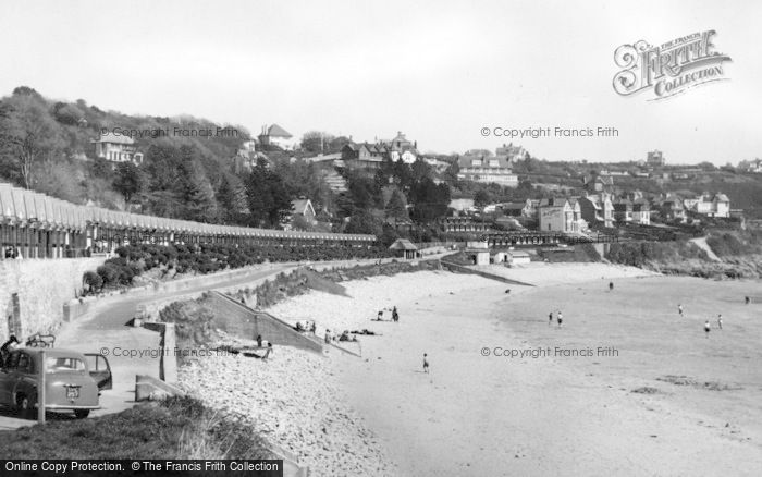Photo of Langland, Bay c.1955