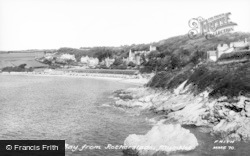 Bay From Rotherslade c.1960, Langland