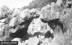 Langland, Bay, Natural Arch 1893