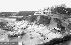 Langland, Bay, The Bathing Beach 1893