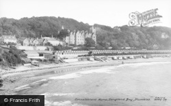 Langland, Bay, The Convalescent Home c.1955