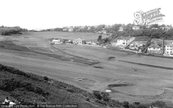 Photo of Langland, Bay, The Golf Course c.1955