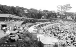 Langland, Bay, The Promenade c.1955