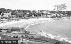 Langland, Langland Bay c.1965