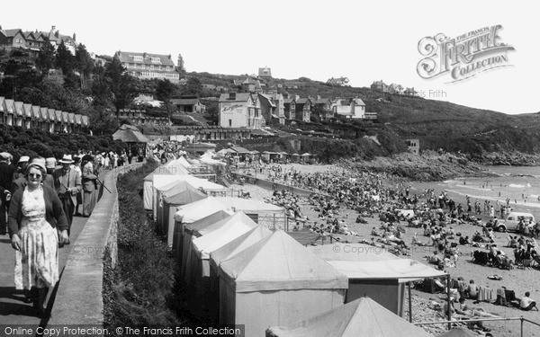 Photo of Langland, Promenade And Beach c.1955