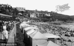 Langland, Promenade And Beach c.1955
