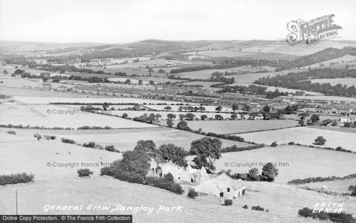 Photo of Langley Park, General View c.1955