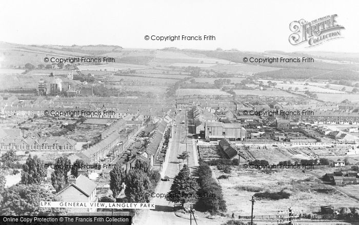 Photo of Langley Park, General View c.1960