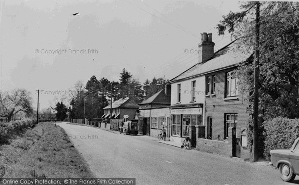 Langley, Post Office and Stores c1960