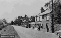 Langley, Post Office And Stores c.1960