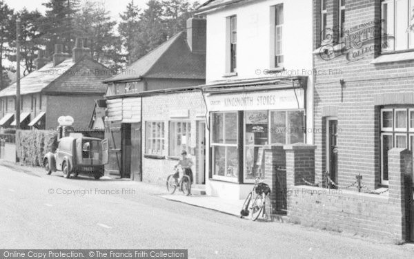 Photo of Langley, Post Office And Stores c.1960