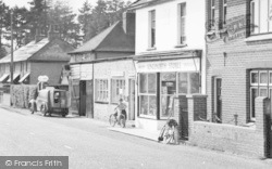 Post Office And Stores c.1960, Langley