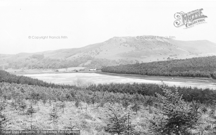 Photo of Langley, Ridgegate Reservoir c.1955
