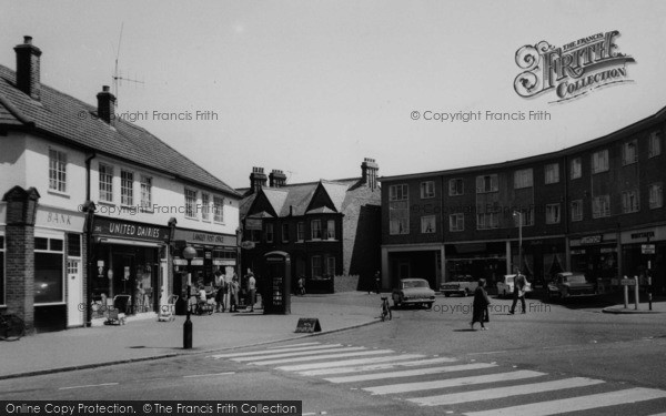 Photo of Langley, Shops On Meadfield Road c.1965
