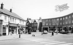 Shops On Meadfield Road c.1965, Langley