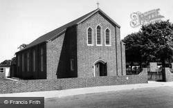 St Anne's Church c.1965, Langley