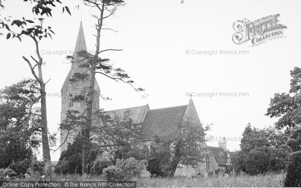 Photo of Langley, The Church c.1952