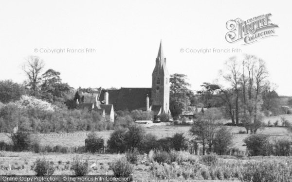Photo of Langley, The Church c.1955
