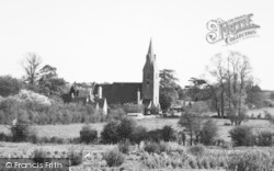 Langley, The Church c.1955