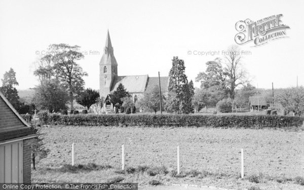Photo of Langley, The Church c.1960
