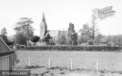 Langley, The Church c.1960