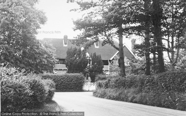 Photo of Langley, The Convalescent Home c.1955