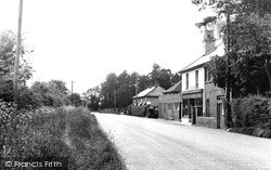 Langley, The Post Office c.1950