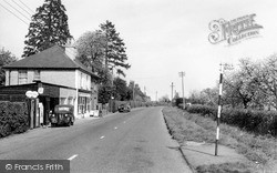 Langley, The Post Office c.1960