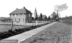 The Rectory And The Church c.1960, Langley