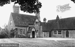 The School c.1955, Langley