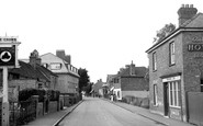 Langley, the Village c1955