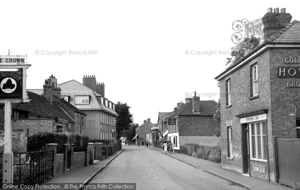 Photo of Langley, the Village c1955