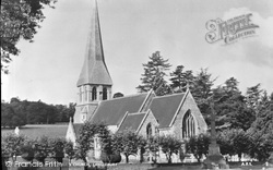 Langleybury, St Paul's Church c.1955
